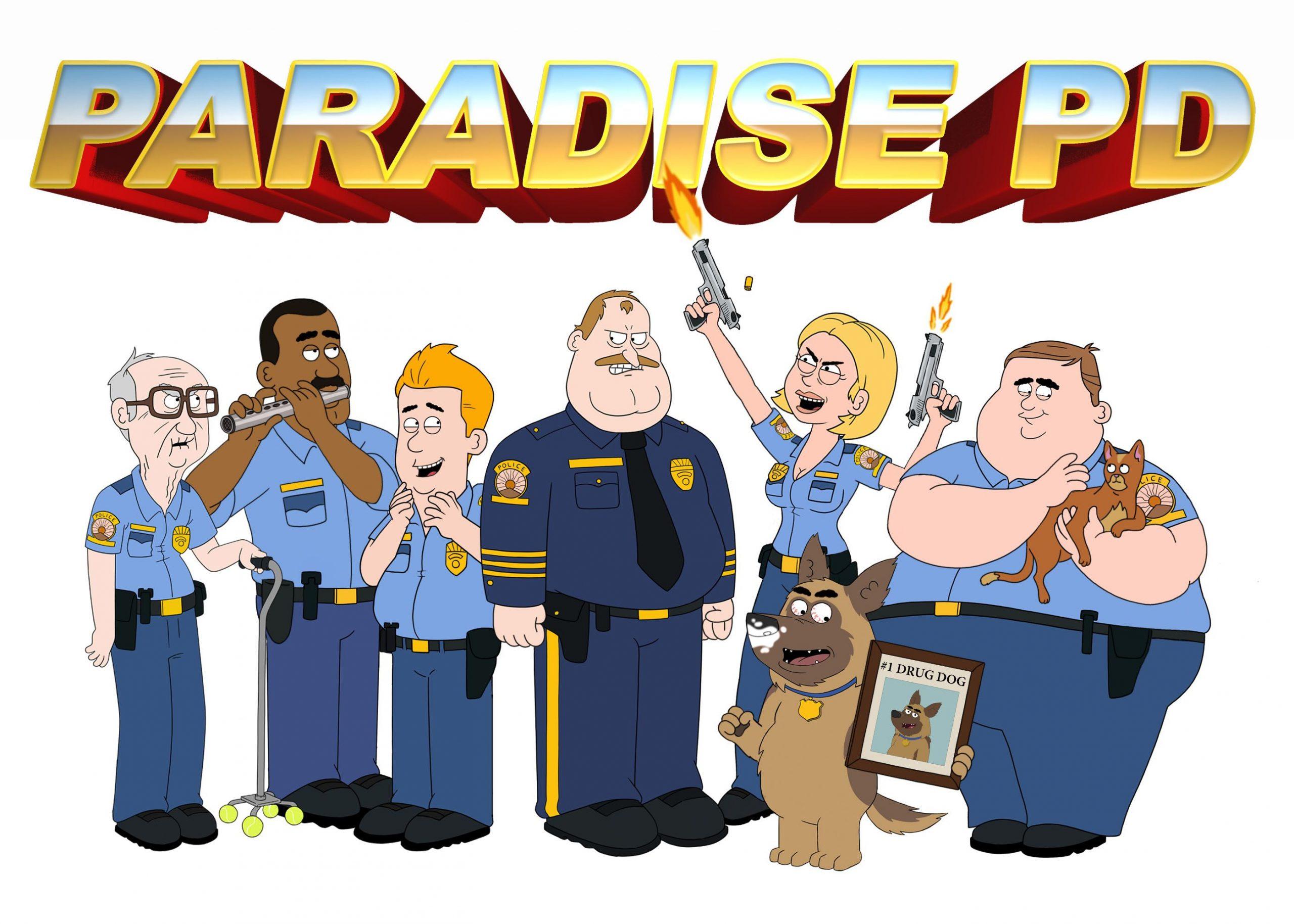 Paradise Police Serie Netflix