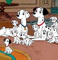 101 dalmatas 1961 familia