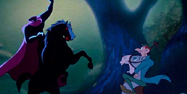 mejores películas infantiles Disney para ver en Disney+ la leyenda de sleepy hollow