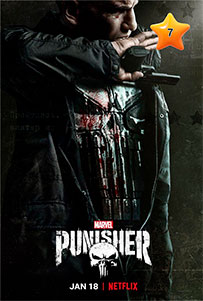 Caratula The Punisher Serte TV Marvel Netflix