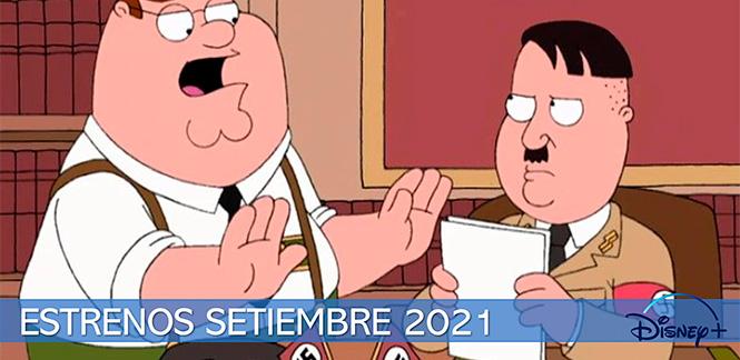 Estrenos Disney Plus Septiembre 2021